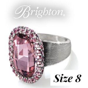 Brighton Pink Contessa Ring sz 8